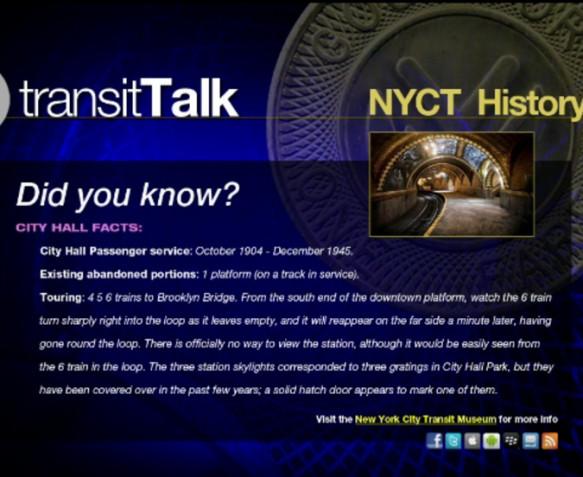 MTA transit Talk scene