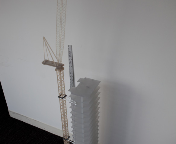 3D Rapid Prototype model created for NY DA office